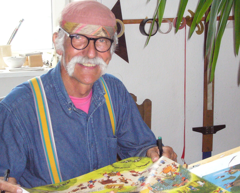 BESUCH BEI ALI MITGUTSCH IN MÜNCHEN 2008