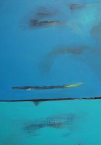 Blau 2 Acryl/Leinwand 50x70
