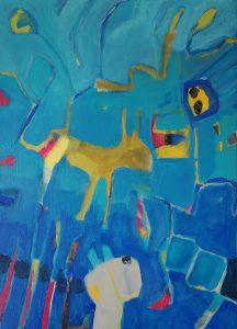 Farm - Acryl/Leinwand 50x70